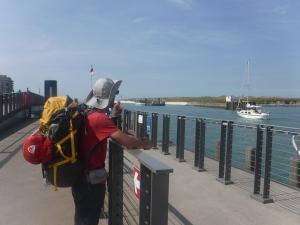 Wachten op de veerboot