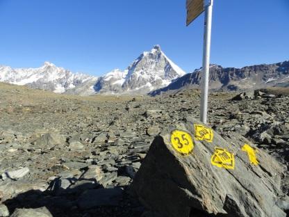 TMR met de Matterhorn in de achtergrond