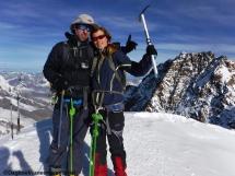 Summit Zumsteinspitze