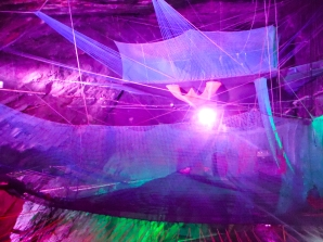 Ondergrondse trampoline