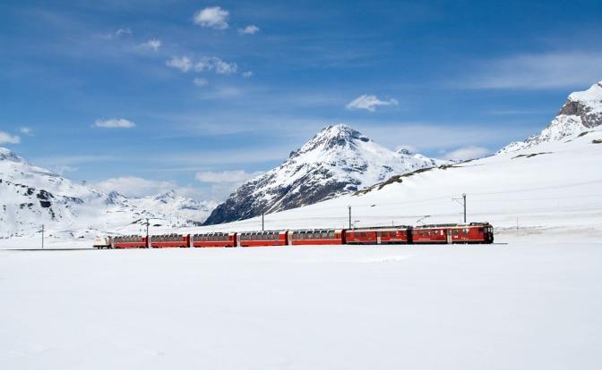 Scenic railway journeys in Europe