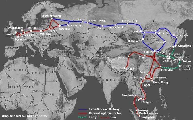 Hoe boek je tickets voor de Transsiberian Express?