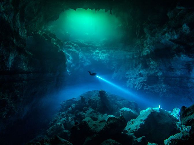 Five best places for diving