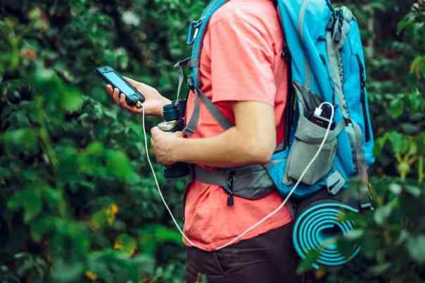Hiking smartphone